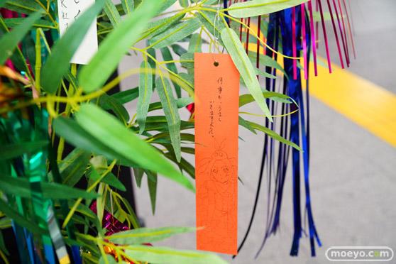 JR秋葉原駅にて〈物語〉シリーズ「七夕展示」の開催20