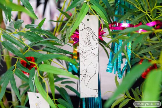 JR秋葉原駅にて〈物語〉シリーズ「七夕展示」の開催21