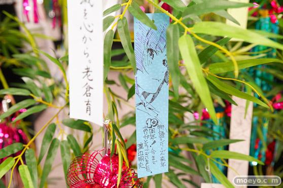 JR秋葉原駅にて〈物語〉シリーズ「七夕展示」の開催23