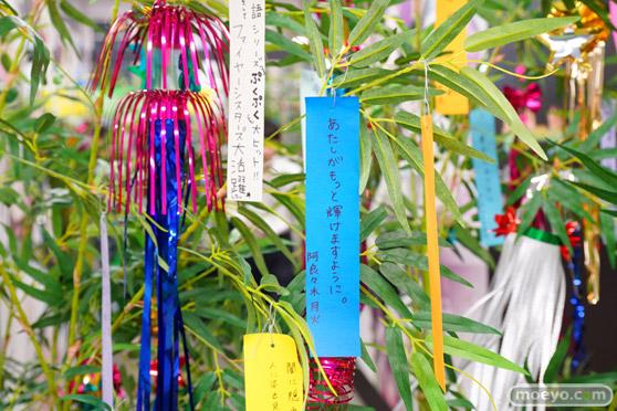 JR秋葉原駅にて〈物語〉シリーズ「七夕展示」の開催25