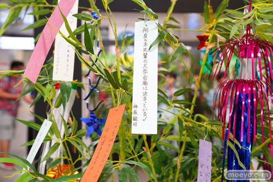 JR秋葉原駅にて〈物語〉シリーズ「七夕展示」の開催26