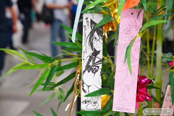 JR秋葉原駅にて〈物語〉シリーズ「七夕展示」の開催27