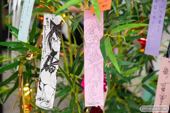 JR秋葉原駅にて〈物語〉シリーズ「七夕展示」の開催28