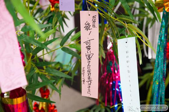 JR秋葉原駅にて〈物語〉シリーズ「七夕展示」の開催29