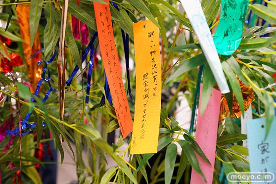 JR秋葉原駅にて〈物語〉シリーズ「七夕展示」の開催31