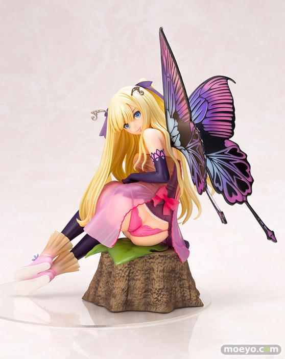 コトブキヤの4-Leaves Tony'sヒロインコレクション 紫陽花の妖精 アナベルの新作フィギュア彩色サンプル画像01