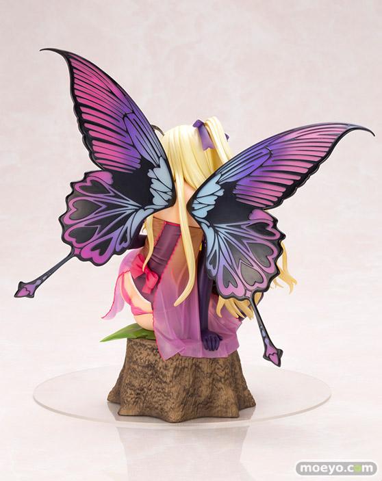 コトブキヤの4-Leaves Tony'sヒロインコレクション 紫陽花の妖精 アナベルの新作フィギュア彩色サンプル画像02