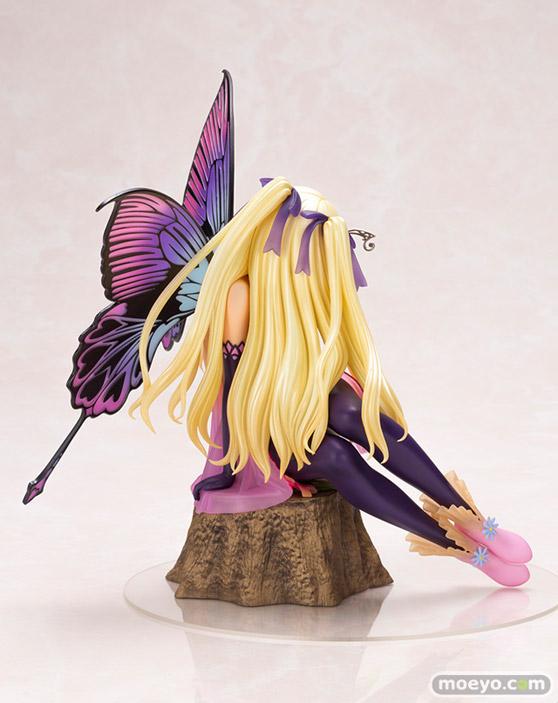 コトブキヤの4-Leaves Tony'sヒロインコレクション 紫陽花の妖精 アナベルの新作フィギュア彩色サンプル画像03