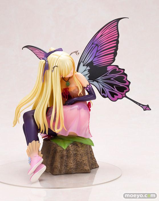 コトブキヤの4-Leaves Tony'sヒロインコレクション 紫陽花の妖精 アナベルの新作フィギュア彩色サンプル画像04