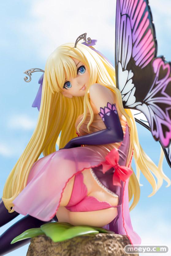 コトブキヤの4-Leaves Tony'sヒロインコレクション 紫陽花の妖精 アナベルの新作フィギュア彩色サンプル画像07