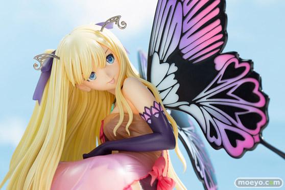 コトブキヤの4-Leaves Tony'sヒロインコレクション 紫陽花の妖精 アナベルの新作フィギュア彩色サンプル画像08