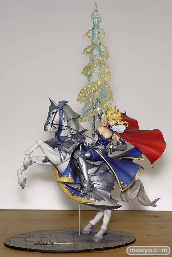 グッドスマイルカンパニーのFate/Grand Order ランサー/アルトリア・ペンドラゴンの新作フィギュア彩色サンプル画像01