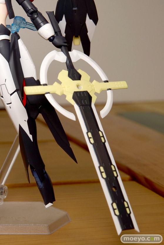 マックスファクトリーのfigma アリス・ギア・アイギス 比良坂夜露の新作フィギュア彩色サンプル画像11