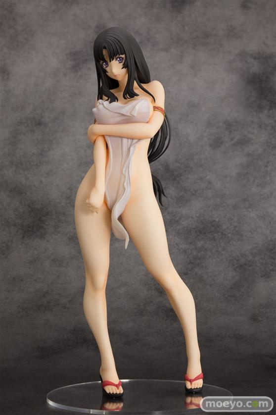 オーキッドシードのクイーンズブレイド 美しき闘士たち 武者巫女 トモエの新作フィギュア彩色サンプル画像19