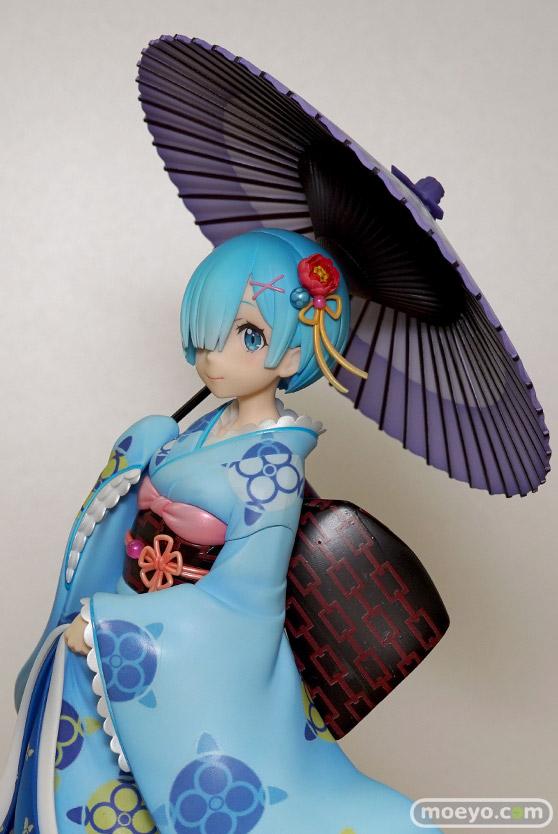 KADOKAWAのRe:ゼロから始める異世界生活 レム 浮世絵Ver.の新作フィギュア彩色サンプル画像14