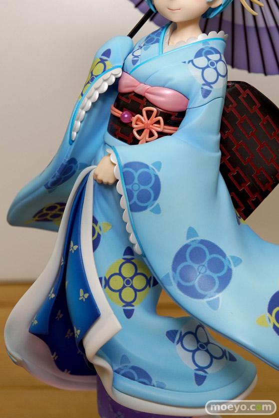 KADOKAWAのRe:ゼロから始める異世界生活 レム 浮世絵Ver.の新作フィギュア彩色サンプル画像15