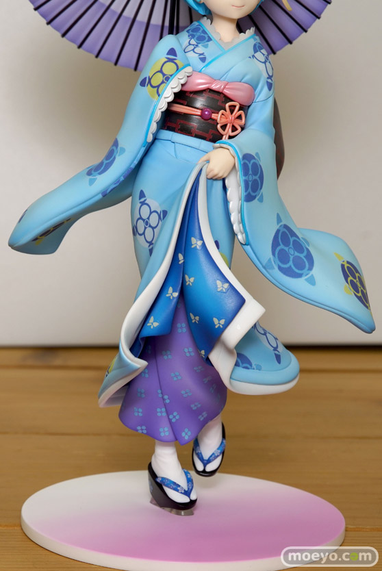 KADOKAWAのRe:ゼロから始める異世界生活 レム 浮世絵Ver.の新作フィギュア彩色サンプル画像16