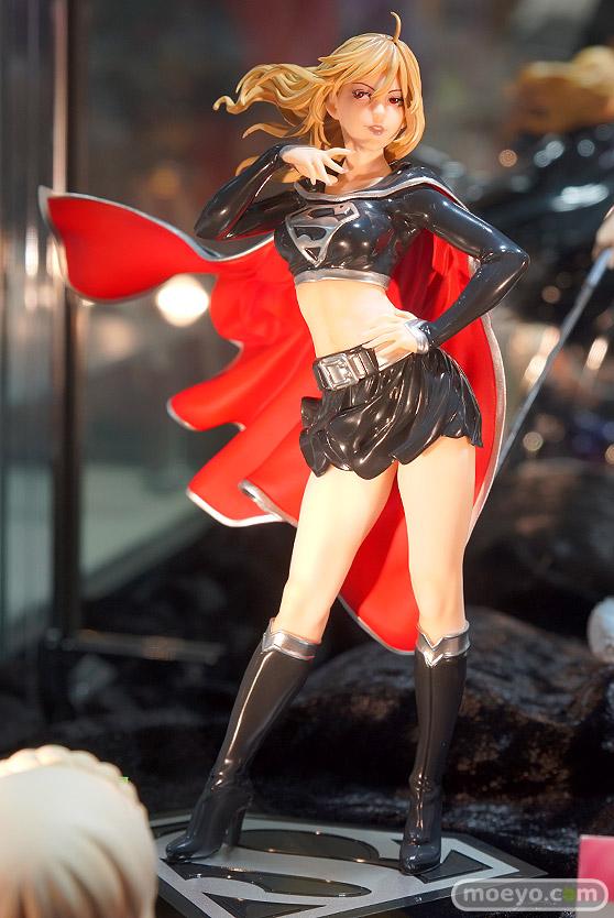 コトブキヤのDC COMICS美少女 DC UNIVERSE ダークスーパーガールの新作フィギュア彩色サンプル画像01