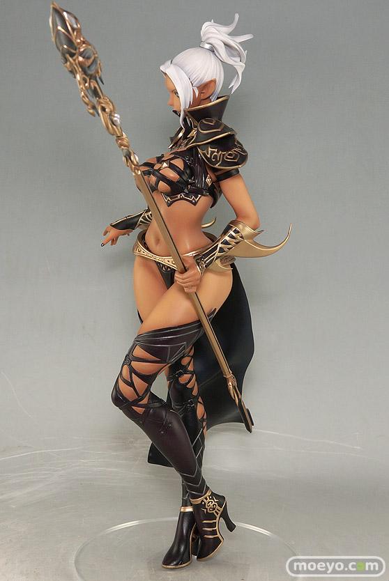 オーキッドシードのリネージュ2 ダークエルフ 褐色肌 限定版の新作フィギュア彩色サンプル撮りおろし画像07