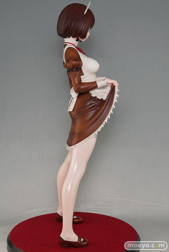 ダイキ工業の嫌な顔されながらおパンツ見せてもらいたいフィギュア メイドの伊東ちとせさん クラシックブラウンの新作フィギュア彩色サンプル画像03
