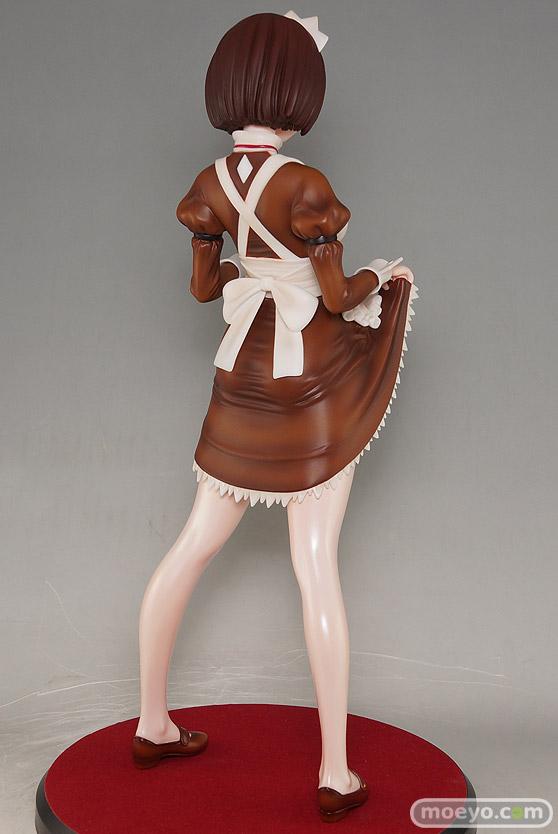 ダイキ工業の嫌な顔されながらおパンツ見せてもらいたいフィギュア メイドの伊東ちとせさん クラシックブラウンの新作フィギュア彩色サンプル画像04