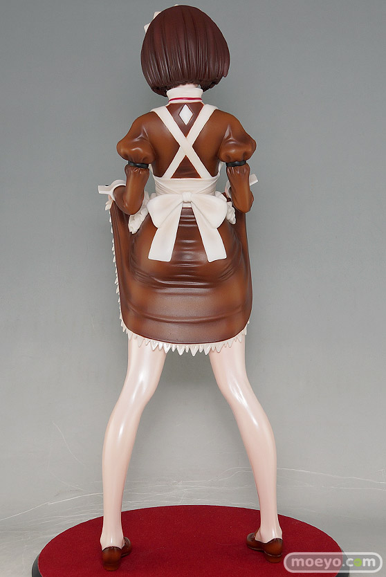 ダイキ工業の嫌な顔されながらおパンツ見せてもらいたいフィギュア メイドの伊東ちとせさん クラシックブラウンの新作フィギュア彩色サンプル画像05
