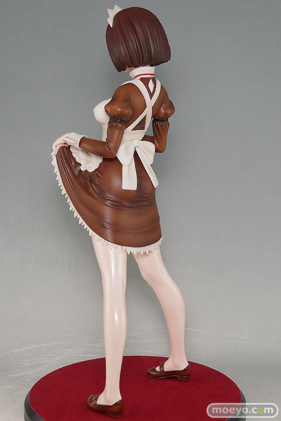 ダイキ工業の嫌な顔されながらおパンツ見せてもらいたいフィギュア メイドの伊東ちとせさん クラシックブラウンの新作フィギュア彩色サンプル画像06