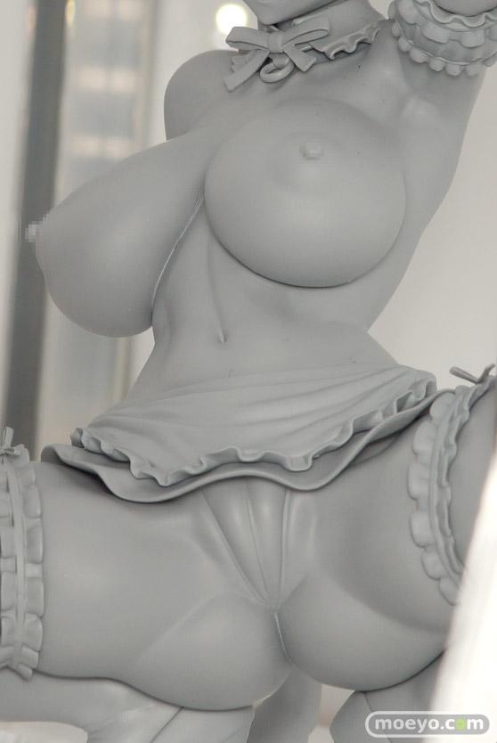 Q-sixの新作アダルトフィギュア 対魔忍アサギ ~決戦アリーナ~ 井河さくら メス豚娼婦 の監修中原型画像07