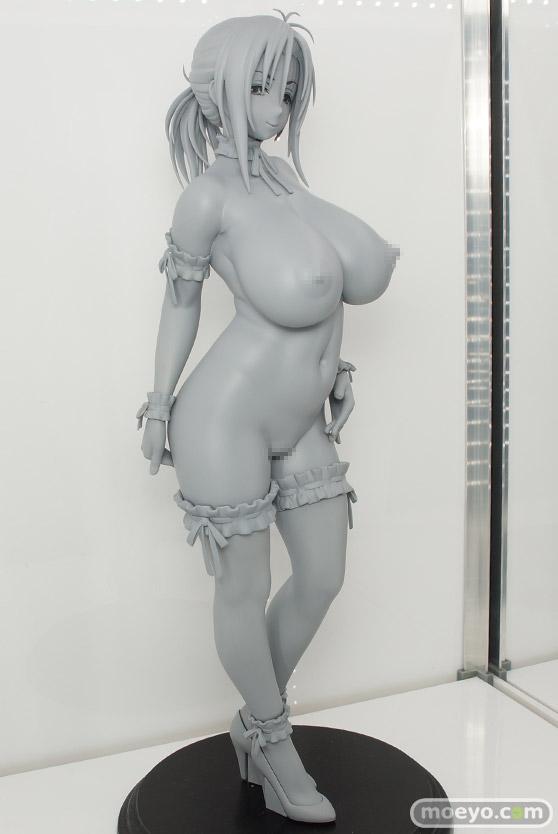 Q-sixの新作アダルトフィギュア SISTERS - 夏の最後の日 神村秋子 の監修中原型画像02