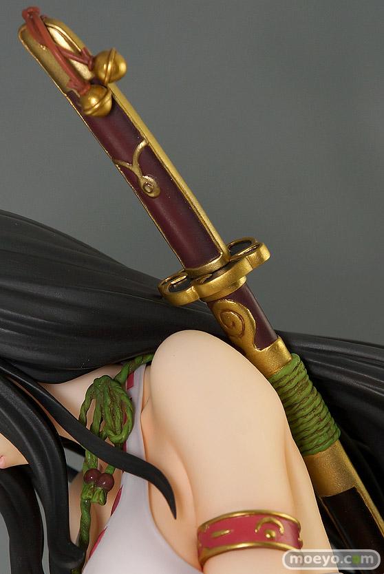 オーキッドシードのクイーンズブレイド 美しき闘士たち 武者巫女 トモエの新作フィギュア彩色サンプル撮りおろし画像27