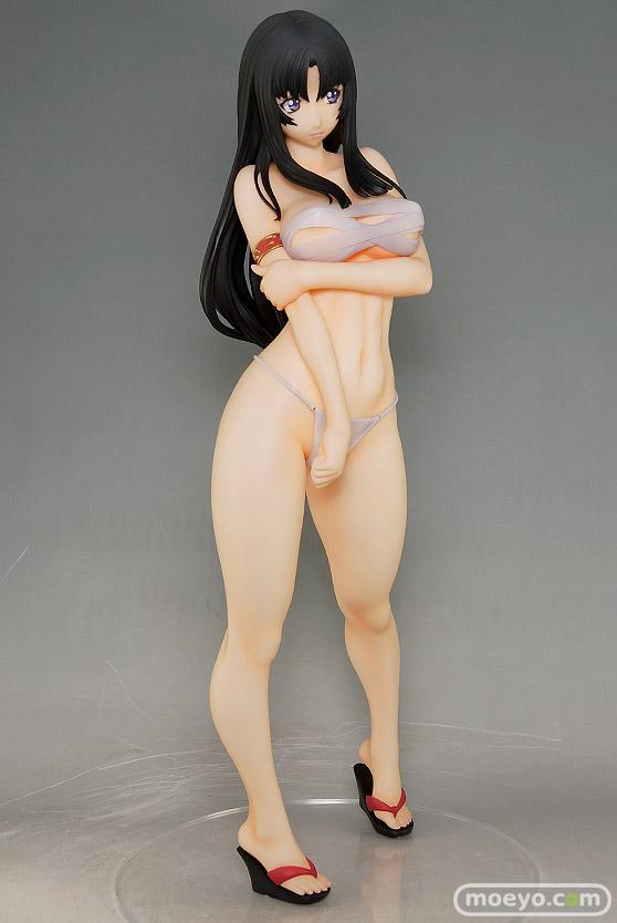 オーキッドシードのクイーンズブレイド 美しき闘士たち 武者巫女 トモエの新作フィギュア彩色サンプル撮りおろし画像30
