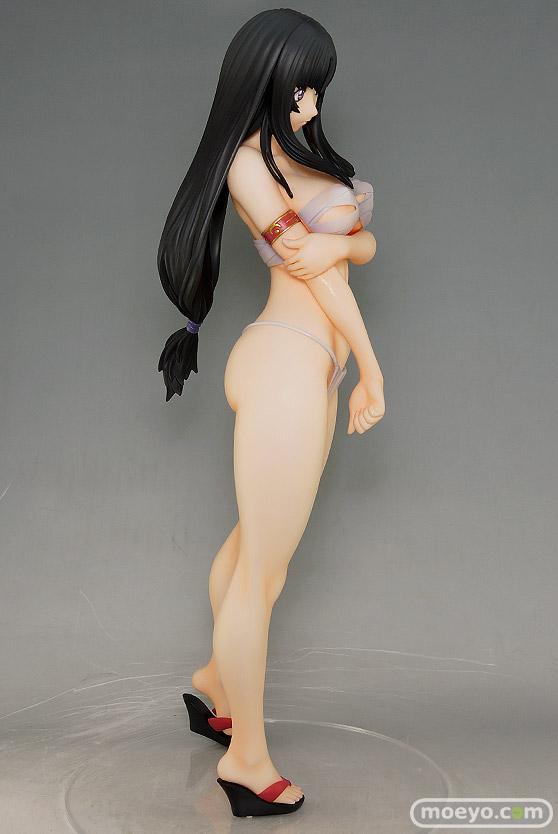 オーキッドシードのクイーンズブレイド 美しき闘士たち 武者巫女 トモエの新作フィギュア彩色サンプル撮りおろし画像31