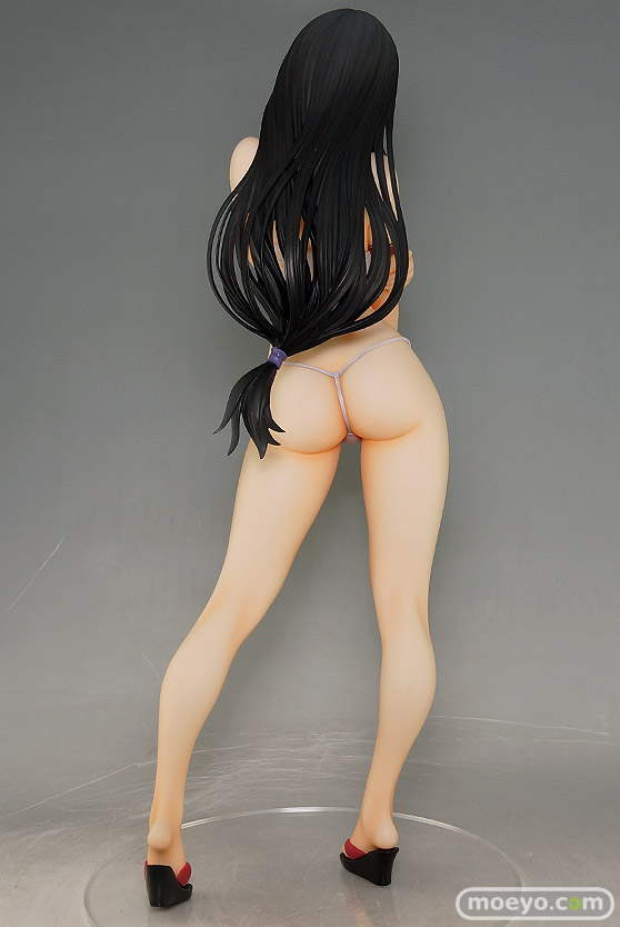 オーキッドシードのクイーンズブレイド 美しき闘士たち 武者巫女 トモエの新作フィギュア彩色サンプル撮りおろし画像33