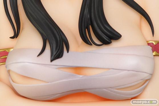 オーキッドシードのクイーンズブレイド 美しき闘士たち 武者巫女 トモエの新作フィギュア彩色サンプル撮りおろし画像45