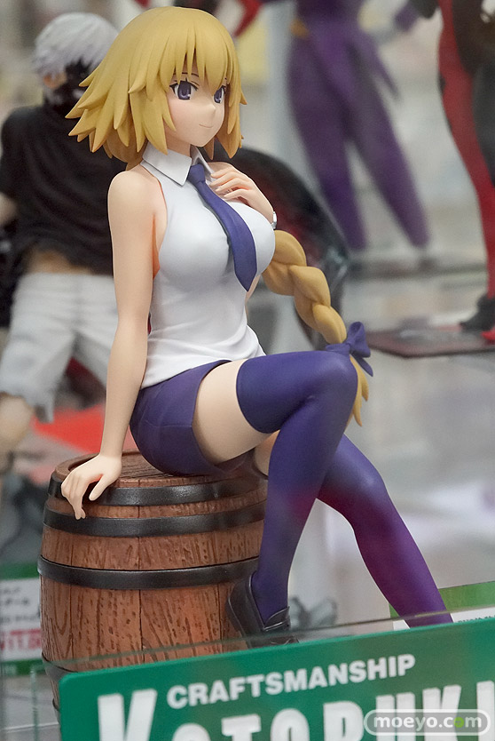 コトブキヤの新作フィギュア Fate/Apocrypha ルーラー の彩色サンプル画像02