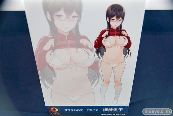 Q-sixの新作アダルトフィギュア サキュバステードライフ 櫻待冬子 の監修中彩色サンプル画像10