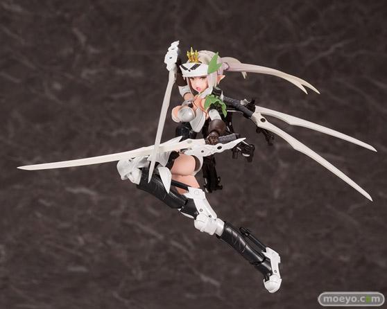 コトブキヤの新作プラモデル メガミデバイス コラボ 武装神姫 猟兵型エーデルワイス 1/1 の彩色サンプル画像01