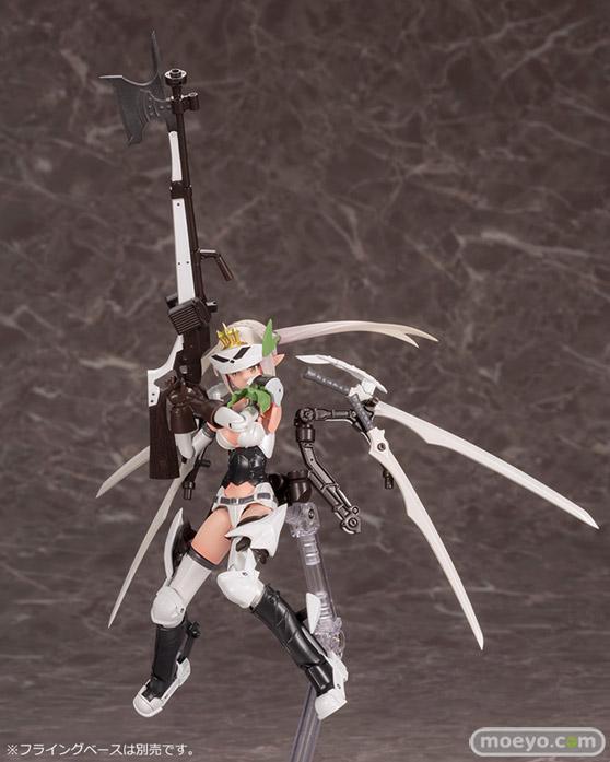 コトブキヤの新作プラモデル メガミデバイス コラボ 武装神姫 猟兵型エーデルワイス 1/1 の彩色サンプル画像04
