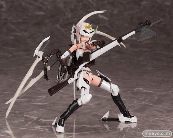 コトブキヤの新作プラモデル メガミデバイス コラボ 武装神姫 猟兵型エーデルワイス 1/1 の彩色サンプル画像06