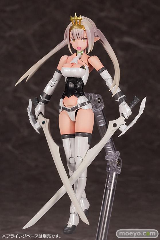 コトブキヤの新作プラモデル メガミデバイス コラボ 武装神姫 猟兵型エーデルワイス 1/1 の彩色サンプル画像13