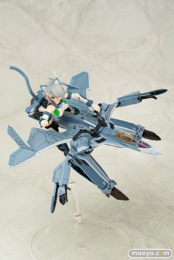 アオシマの新作プラモデル ACKS V.F.G. マクロスΔ VF-31A カイロス の彩色サンプル画像03