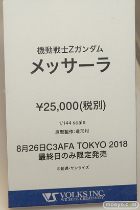 C3AFA TOKYO 2018 新作フィギュア展示の様子 ウェーブ ボークス アニプレックス プレックス14