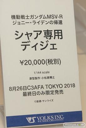 C3AFA TOKYO 2018 新作フィギュア展示の様子 ウェーブ ボークス アニプレックス プレックス16