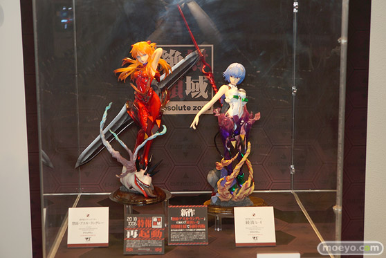 C3AFA TOKYO 2018 新作フィギュア展示の様子 ウェーブ ボークス アニプレックス プレックス21