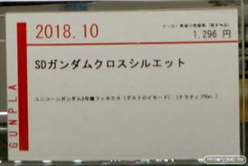 C3AFA TOKYO 2018 新作フィギュア展示の様子 バンダイスピリッツ BANDAI SPIRITS 魂ネイション ガンプラ プラモデル46