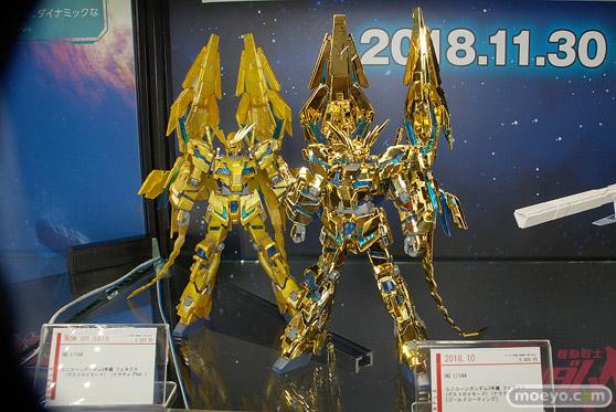 C3AFA TOKYO 2018 新作フィギュア展示の様子 バンダイスピリッツ BANDAI SPIRITS 魂ネイション ガンプラ プラモデル54