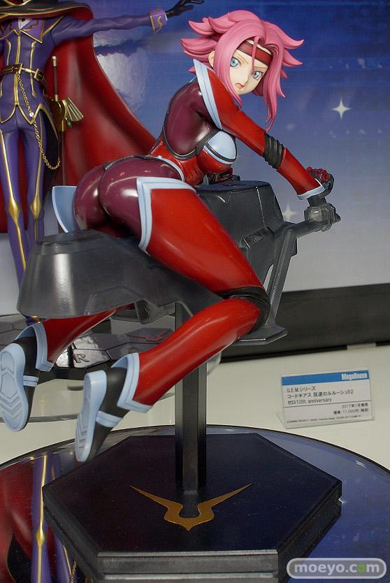 メガハウスの新作フィギュア G.E.M.シリーズ コードギアス反逆のルルーシュR2 紅月カレン の監修中原型画像01
