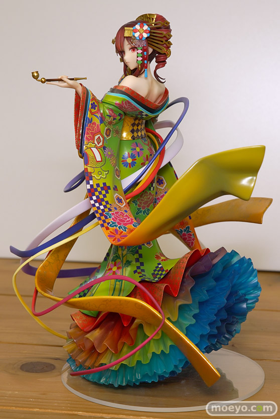 グッドスマイルカンパニーの新作フィギュア UTAU 重音テト 吉原ラメントVer. の彩色サンプル画像10
