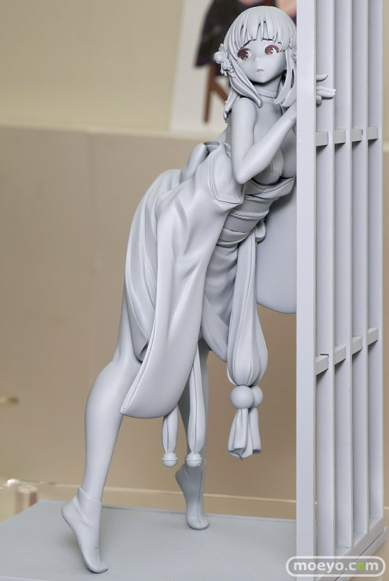 マジックバレットの新作アダルトフィギュア 艶姿 月ノ輪ガモ の彩色サンプル画像13