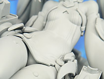 プラム新作フィギュア「アズールレーン エルドリッジ」監修中原型が展示!